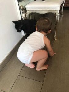 come far convivere gatti e bambini