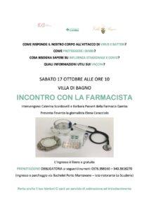 evento farmacia Gamba Villa Di Bagno Elena Caracciolo