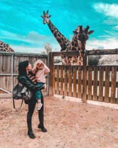 Guia Rima e sua figlia Zoe